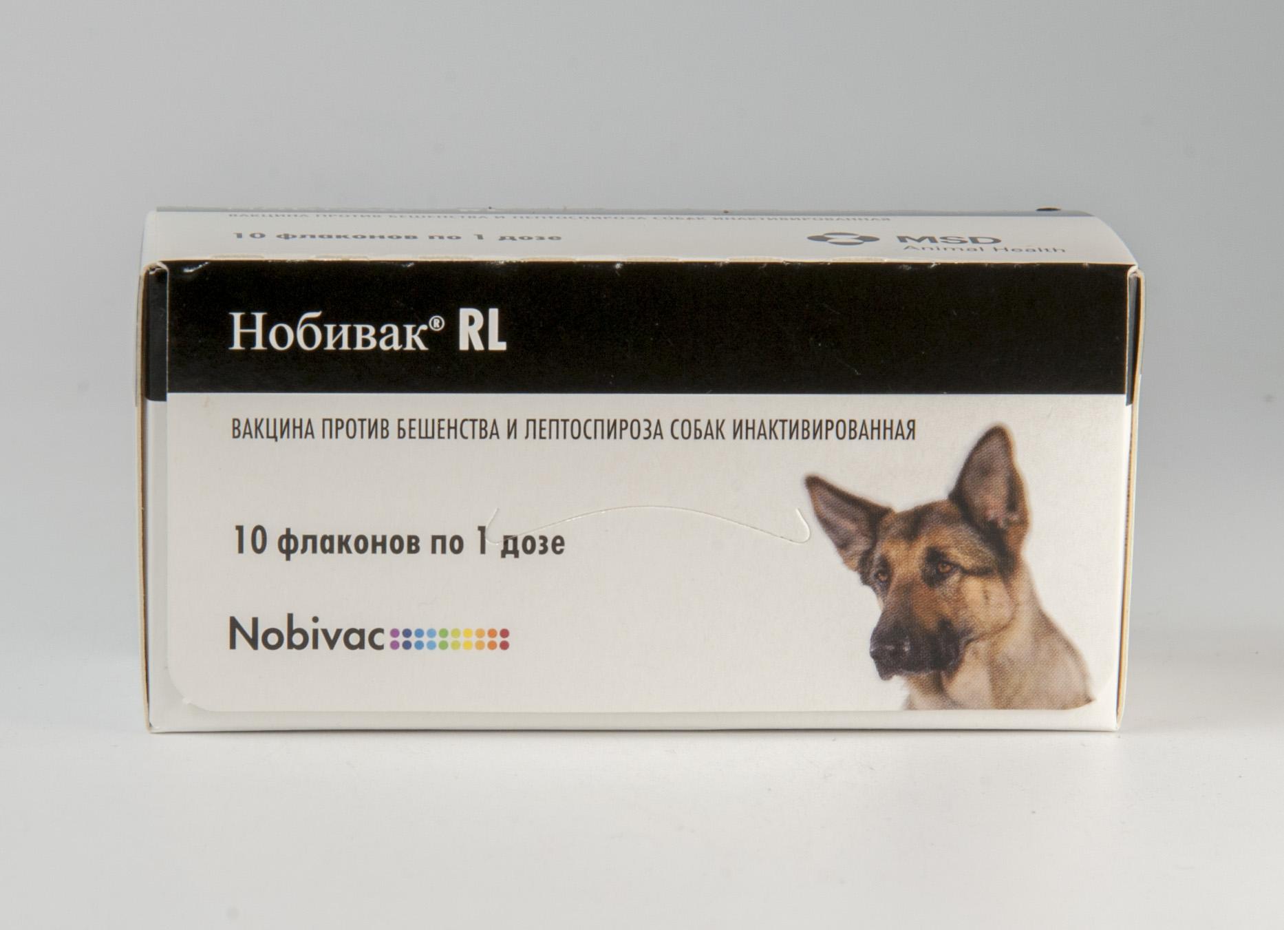 Схема прививки щенков nobivac