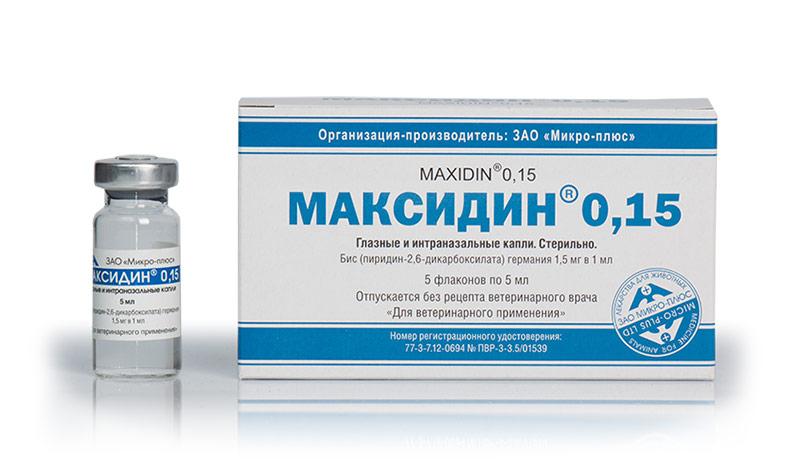 Инструкция глазные капли максидин