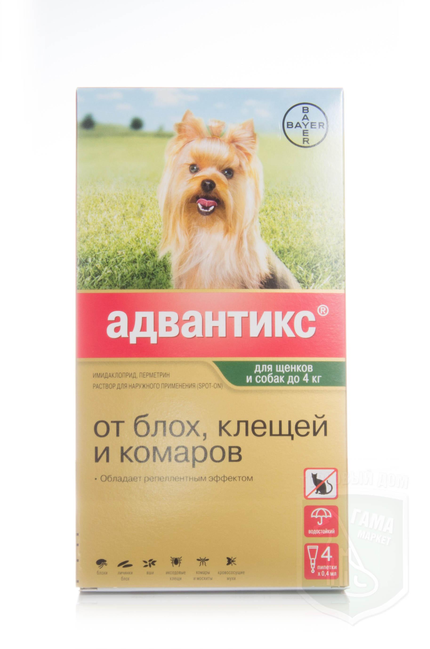 Адвантикс для собак: инструкция по применению, цена | «дай лапу».