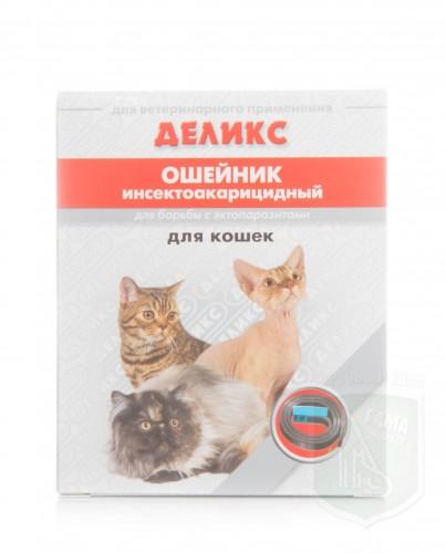 Деликс ошейник для кошек с перметрином