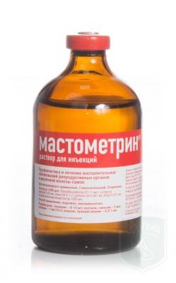Мастометрин, 100 мл инъекц. р-р
