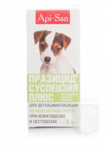 Празицид-суспензия плюс для щенков, 6 мл