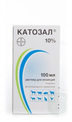 Катозал, инъекционный раствор 10%, 100 мл