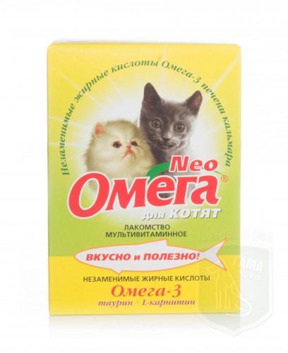Омега NEOд/котят с таурином и L-карнитином 60табл.