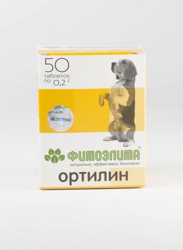 Фитоэлита - Ортилин для собак