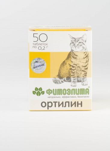 Фитоэлита - Ортилин для кошек