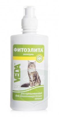 Шампунь Фитоэлита для длинношерстных кошек распутывающий, 220 мл