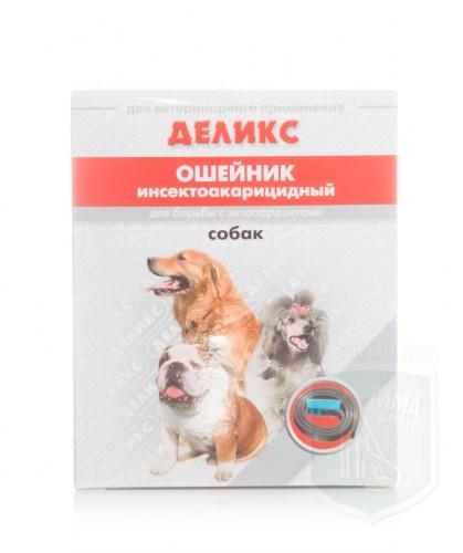 Деликс ошейник для собак с перметрином