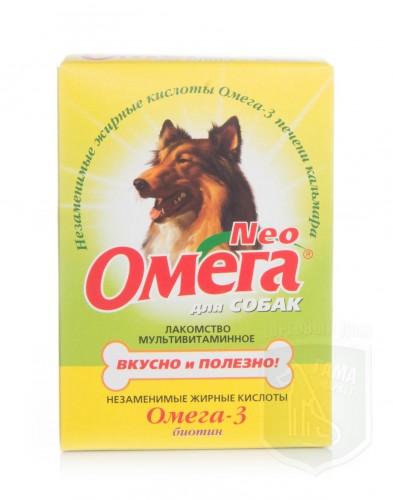 Омега NEOд/собак с биотином  90табл.