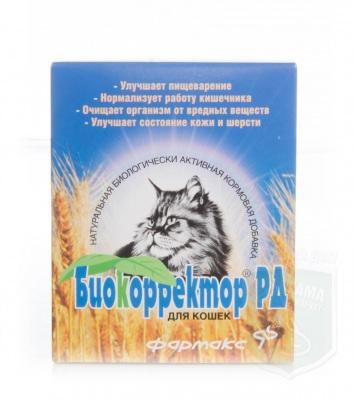 Биокорректор РД для кошек, 60 табл