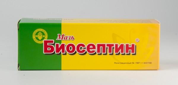 Мазь Биосептин, 60 г
