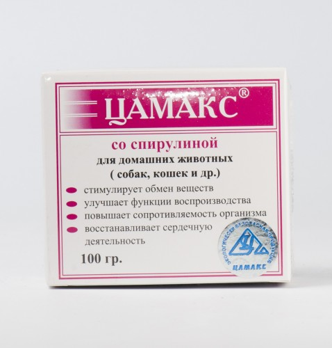 Цамакс со спирулиной, 100 г