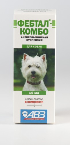 Фебтал-комбо для собак, 10 мл