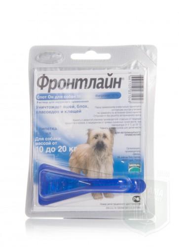 Фронтлайн Спот Он для для собак от 10 до 20 кг, M (1 х 1.34 мл)