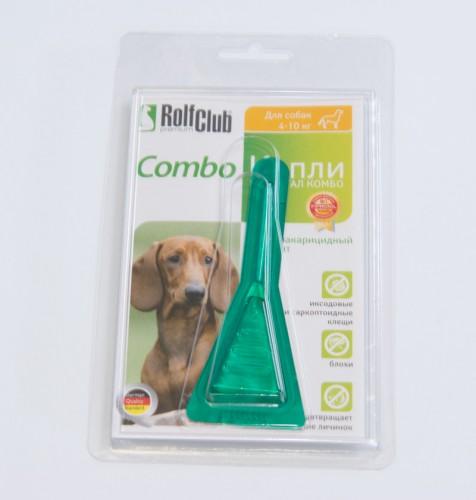 Рольф Клуб капли от блох и клещей для собак 4-10 кг