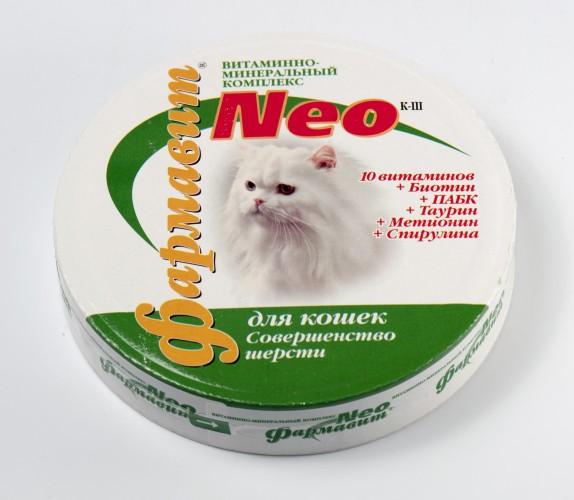 Фармавит NEO совершенство шерсти кошек