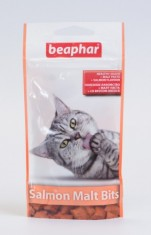 Беафар Подушечки Мальт-Битс +лосось, 35г