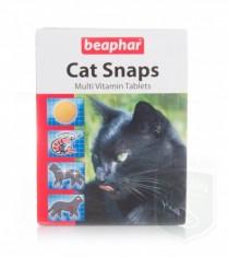 Беафар Витамины CAT SNAPS д/ кошек 75 таблеток