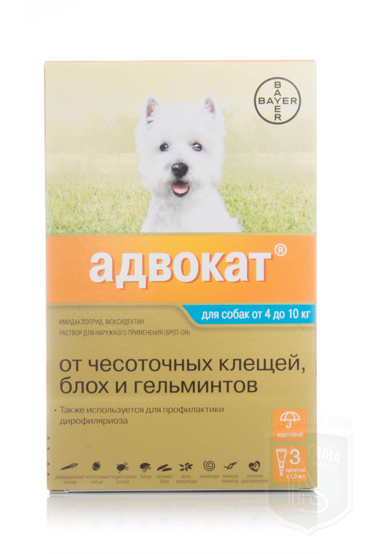 Адвантикс для собак: инструкция по применению, цена   «дай лапу».