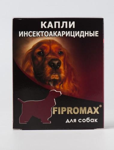 Деликс FIPROMAX капли для собак, упаковка 4 пипетки