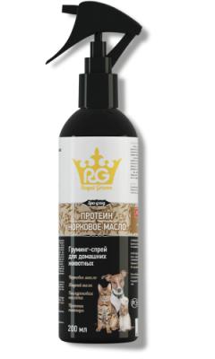 Грумминг-спрей с протеином и норковым маслом (д/всех животных 200 мл)