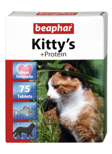 Беафар Витамины KITTYs PROTEIN для кошек 180 таблеток