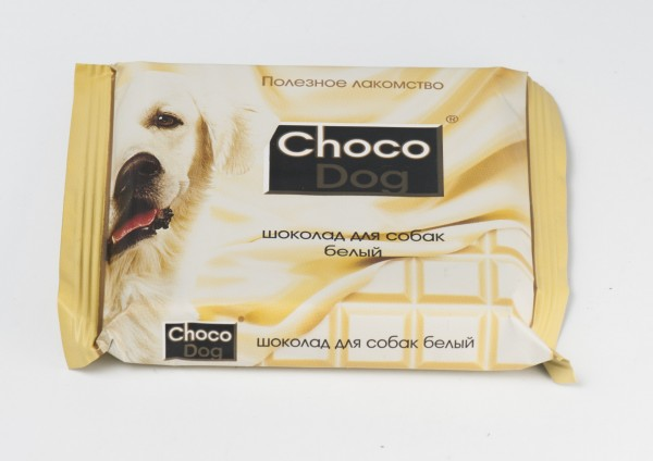 шоколад CHOCO DOG белый, 85 г