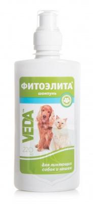 Шампунь Фитоэлита для линяющих собак и кошек, 220 мл