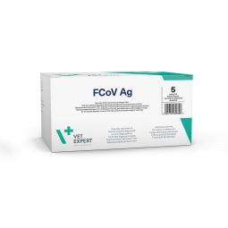 Тест для выявления короновирусного энтерита FCoV Ag (5 тестов)