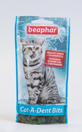 Беафар подушечки для чистки зубов у кошек, 35 г