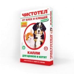 Чистотел капли Юниор для щенков и котят от блох и клещей №3