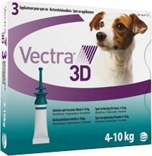 Вектра 3D капли д/собак 4-10кг инсектоакарицидные 1,6мл*3пипетки
