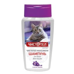 Чистотел Шампунь д/кошек от блох и клещей, 180 мл С614 (кор/36 шт)