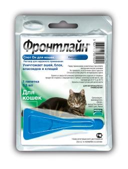 Фронтлайн Спот-ОН К д/кошек, 0,5 мл