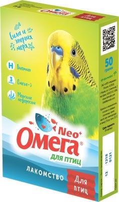 Омега NEO + д/птиц с биотином, 50 г (упак/5 шт)