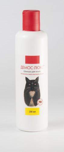 Шампунь Демос- Люкс для кошек против блох, вшей, власоедов, клещей, 200 мл