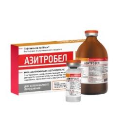 Азитробел, 10 мл (уп/ 5 фл)