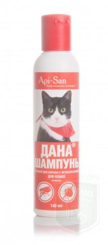 Дана шампунь д/кошек, 140 мл