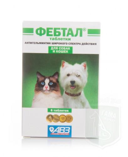 Фебтал, 6 таблеток