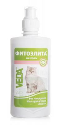 Шампунь Фитоэлита для пушистых кошек, 220 мл