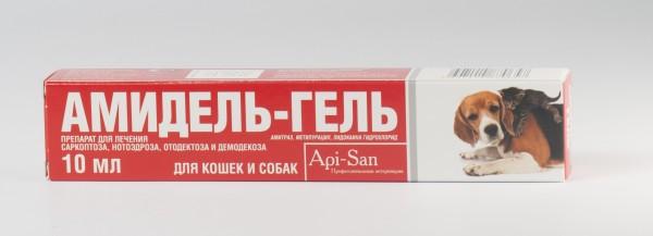 Амидель-гель, 10мл+дозатор