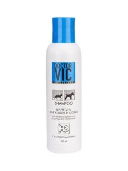 Шампунь Doctor VIC с хлоргексидином 4 % д/кошек и собак, 150 мл