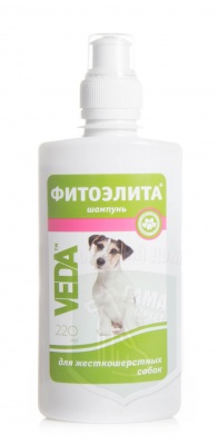 Шампунь Фитоэлита для жесткошертных собак, 220 мл