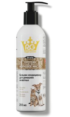 Бальзам-кондиционер с протеином и норковым маслом (д/всех животных 200 мл)
