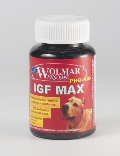 Wolmar Winsome Pro Bio IGF MAX, 180 табл.