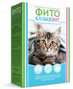 Фитокальцевит кошки, 250г