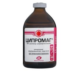 ЦИПРОМАГ (10% р-р ципрофлоксацина), 100 мл