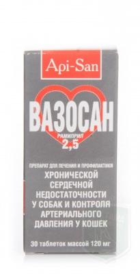 Вазосан 2,5, 30 табл