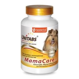 Витамины UNITABS MamaCare c B9 для беременных и кормящих собак, 100табл