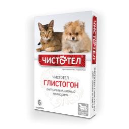 Чистотел Глистогон Таблетки д/кошек и собак, 6 таб
